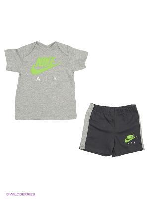 Спортивный комплект YA AIR GPX SET INF Nike. Цвет: серый