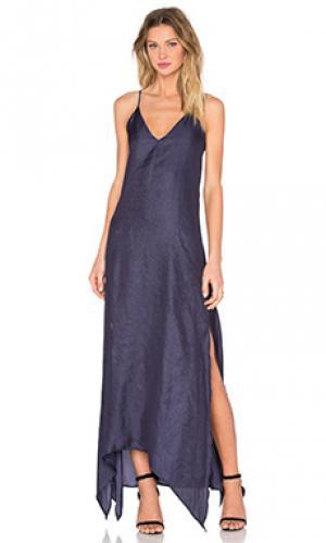 Вечернее платье ever Rory Beca. Цвет: синий