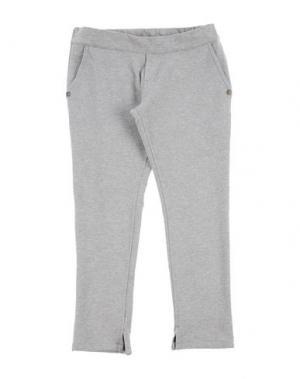 Повседневные брюки MANILA GRACE DENIM. Цвет: светло-серый