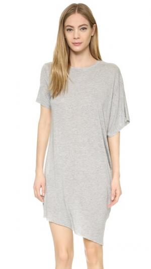 Платье Mist Cheap Monday. Цвет: серый меланж