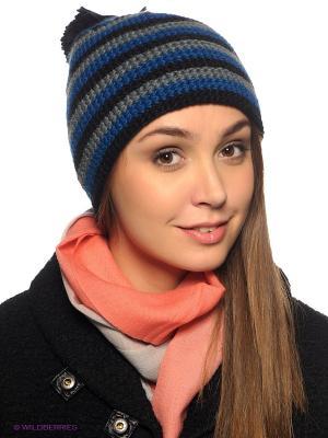 Шапка Viking caps&gloves. Цвет: синий, серый, черный
