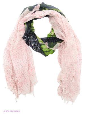 Палантин Michel Katana. Цвет: зеленый, темно-серый, светло-серый, розовый
