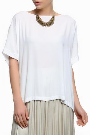Блуза XS MILANO. Цвет: белый