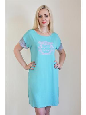 Ночная сорочка Miata. Цвет: салатовый