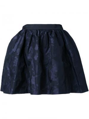 Короткая пышная юбка Guild Prime. Цвет: синий
