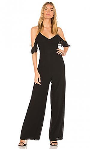 Пляжный костюм с широкими брюками boulevard Yumi Kim. Цвет: черный