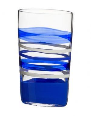 Ваза CARLO MORETTI. Цвет: синий