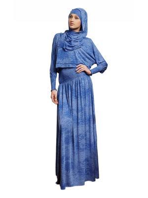Костюм Комфорт Sahera Rahmani. Цвет: синий