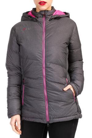 Куртка YETI. Цвет: розовый