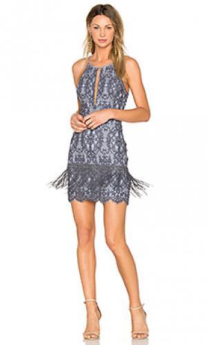 Платье julie SAYLOR. Цвет: синий