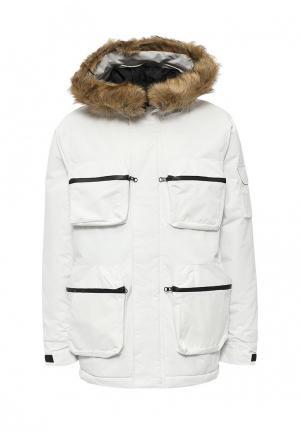 Куртка утепленная d-Struct. Цвет: белый