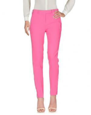 Повседневные брюки HOPE COLLECTION. Цвет: розовый