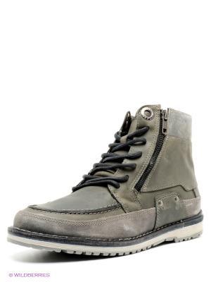 Ботинки WEST COAST. Цвет: серый