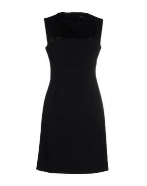 Короткое платье MARIOS SCHWAB. Цвет: черный