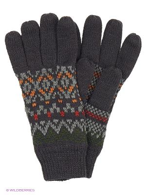 Перчатки Reserved. Цвет: серо-голубой