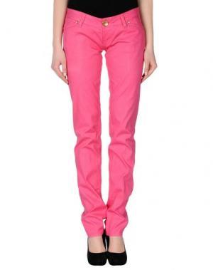 Повседневные брюки 2W2M. Цвет: светло-фиолетовый