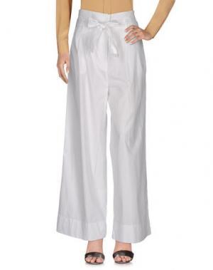 Повседневные брюки MARCHÉ_21. Цвет: белый