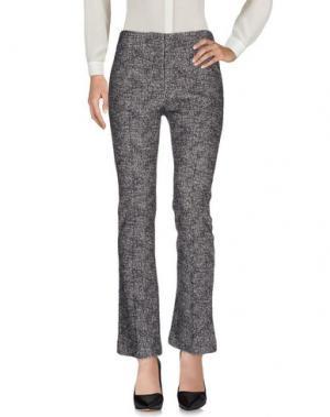Повседневные брюки TARA JARMON. Цвет: стальной серый