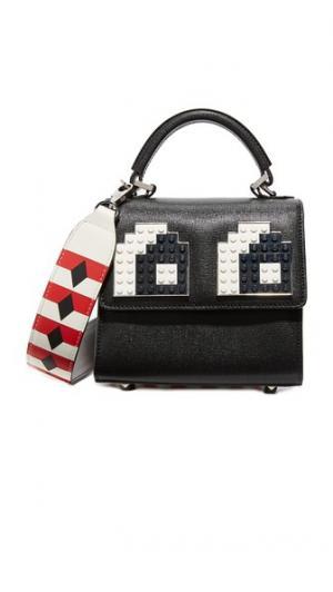 Миниатюрная сумка через плечо Alex Eyes les petits joueurs