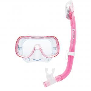 Комплект детский  Mini Kleio Dry: маска, трубка Tusa