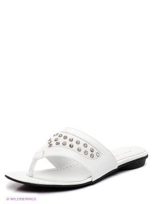 Пантолеты Felina shoes. Цвет: белый