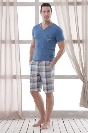 Пижама с шортами Relax Mode. Цвет: фиолетовый