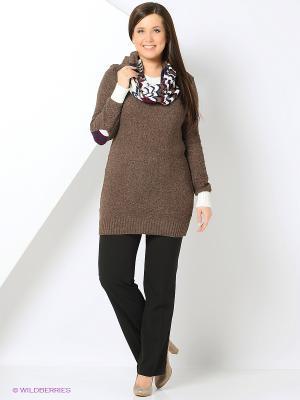Костюм Milana Style. Цвет: коричневый