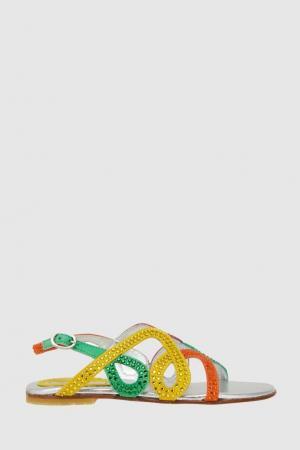 Сандалии Mi Sol. Цвет: multicolor