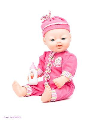 Кукла интерактивная Муси-пуси. Цвет: фуксия