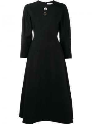 Платье Elliot Rejina Pyo. Цвет: чёрный