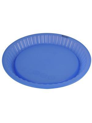 Фрма для пирога Regent inox. Цвет: синий
