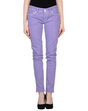 Джинсовые брюки NOLITA DE NIMES. Цвет: сиреневый