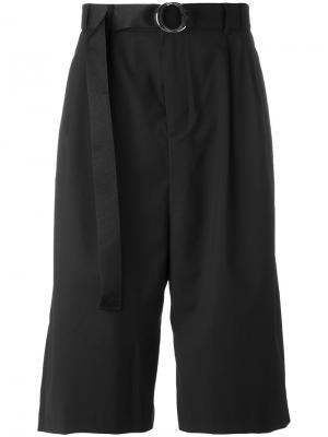 Side tape shorts D.Gnak. Цвет: чёрный