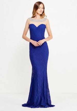 Платье Soky & Soka. Цвет: синий