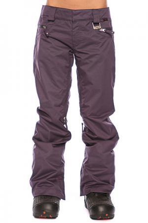 Штаны сноубордические женские  New Karing Pant Purple Shade Oakley. Цвет: фиолетовый