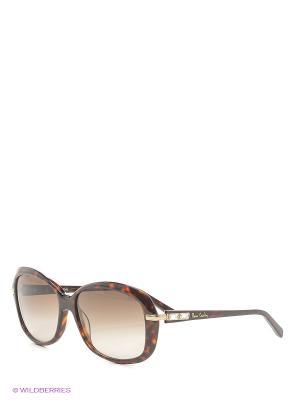 Солнцезащитные очки Pierre Cardin. Цвет: коричневый, рыжий