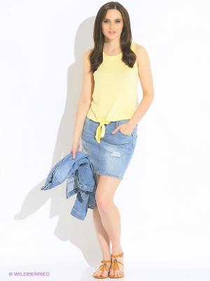 Майка Vero moda. Цвет: желтый