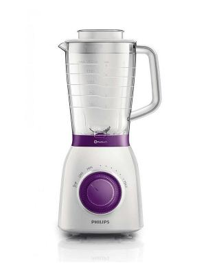 Блендер электрический Philips HR2162/00. Цвет: белый, фиолетовый