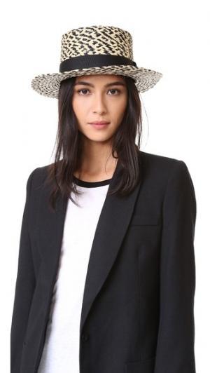 Осенняя шляпа Brixton. Цвет: черный/кремовый