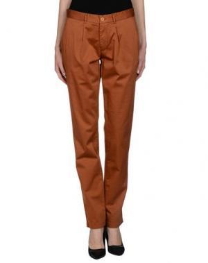 Повседневные брюки EN AVANCE. Цвет: коричневый