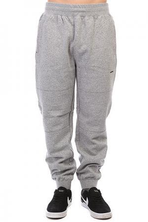 Штаны спортивные  Sweatpant Grey Heather Undefeated. Цвет: светло-серый