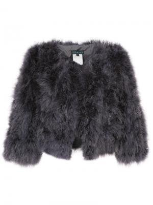 Укороченный пиджак Jocelyn. Цвет: серый