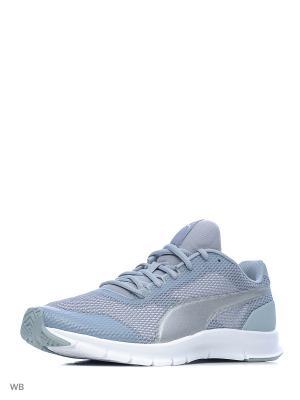 Кроссовки Flexracer Pro Puma. Цвет: серо-голубой, светло-серый