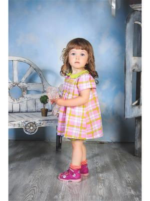 Комплект одежды для малышей UMKA. Цвет: розовый