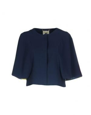 Пиджак BLUEFEEL by FRACOMINA. Цвет: темно-синий