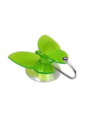 Крючок для полотенец на присоске Migura. Цвет: зеленый