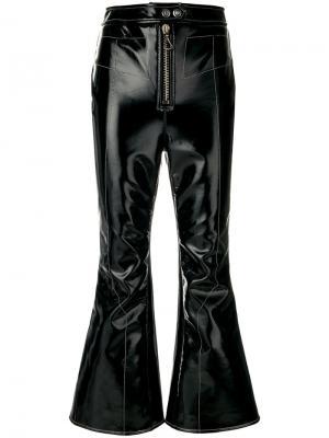 Укороченные брюки клеш Sipsi Ellery. Цвет: чёрный