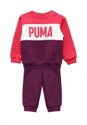 Костюм спортивный PUMA. Цвет: фиолетовый