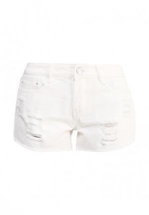 Шорты джинсовые By Swan. Цвет: белый