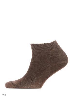 Носки, 5 пар Модекс. Цвет: темно-коричневый